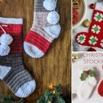 Fun Crochet Christmas Stockings