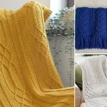 Beautiful Cable Crochet Blankets