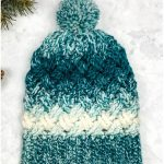 Celtic Winters Slouchy Crochet Hat with Free Pattern