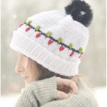 Christmas Vacation Crochet Beanie with Free Pattern