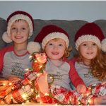 Classic Santa Knitting Hat with Free Pattern
