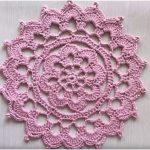 Crochet Flower Doily Tutorial Easy For Beginners