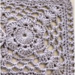 Easy Flower Crochet Square with Free Tutorial