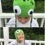 Frankenstein Crochet Hat with Free Pattern