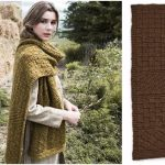 PATONS TEXTURE MIX KNIT SCARF