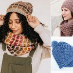 Beautiful Crochet Scarf Set Ideas