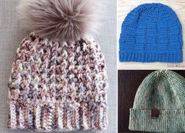 Amazing Pom Pom Crochet Beanie FREE