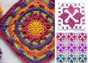 Stunning Colorful Squares