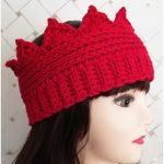 Crown Ear Crochet Warmer FREE