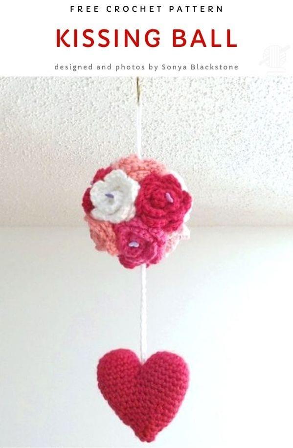 Kissing Ball Free Crochet Pattern