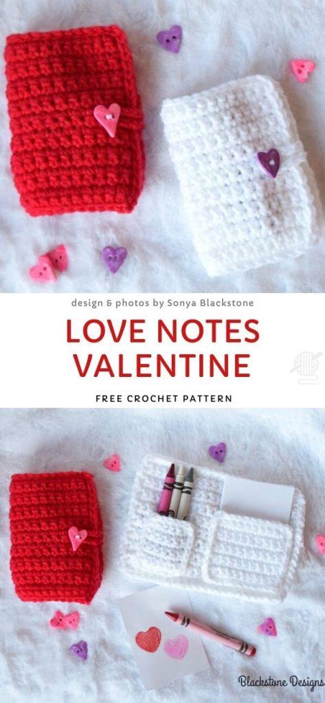 Love Notes Valentine Free Crochet Pattern