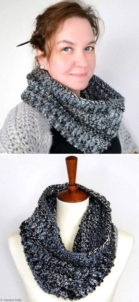 Smokestack Cowl Free Crochet Pattern