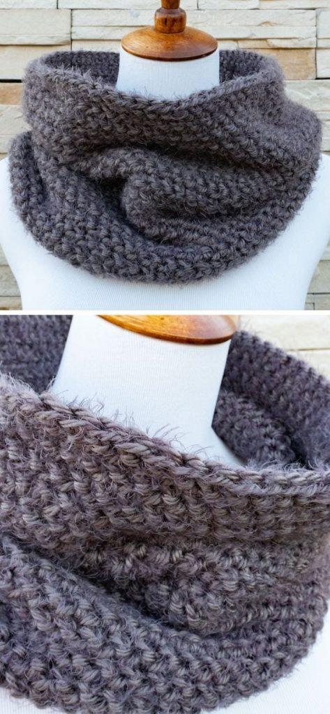 The Herringstone Cowl Free Crochet Pattern