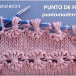 Flower Knitting Stitch Free Pattern