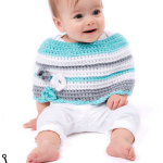 Baby's First Knit Poncho