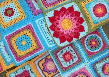 free crochet pattern: Block a Week CAL 2014