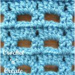 Boxed Block Crochet Stitch Free