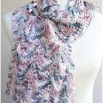Cute Smudge Knitting Scarfs Free Pattern
