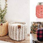Mason Jar Crochet Cozy Ideas