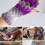 Fingerless for Winter and Spring Crochet Free