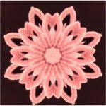 Irish Flower 3D Free Crochet Pattern