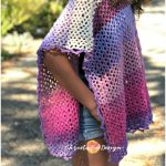 Marletto Lace Crochet Poncho Free