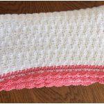 Shell Stitch Crochet Baby Blanket [FREE]