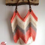 Solid Granny Square Bottom Crochet Bag FREE
