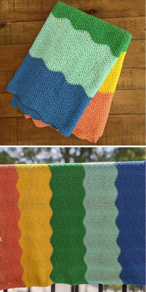 Soft Waves Blanket