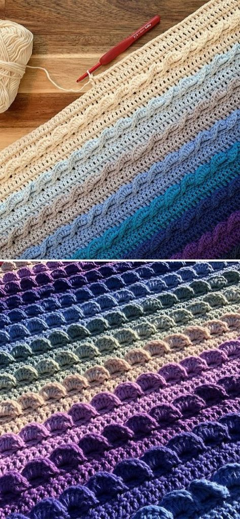 The Pure Shores blanket