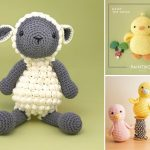 Sweet Easter Amigurumi Chicks and Ducks