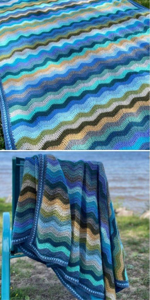 Coast Ripple Blanket