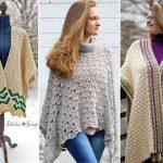 Beautiful Cosy Crochet Ponchos