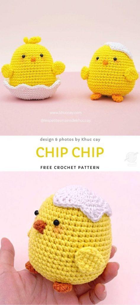 Chip Chip Free Crochet Pattern