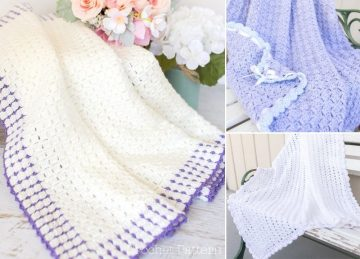 Easy And Beautiful Crochet Blankets Ideas