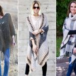 Comfy Crochet Ponchos for Cold Weather