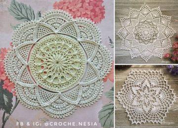 Romantic Lacy Crochet Doilies