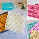 Stylish Crochet Washcloths