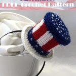 American Flag Mini HatCrochet [FREE]