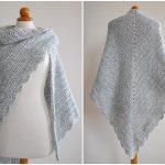Beginner Triangle Crochet Shawl [FREE]