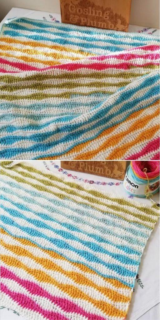 Seaside Stash Busting Blanket