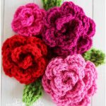 Easy Crochet Rose for Beginners [FREE]