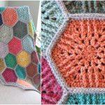 Sunbeam Hexagon Crochet Motif NO LONGER AVAILABLE!