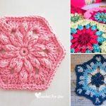 Gorgeous Crochet Hexagons