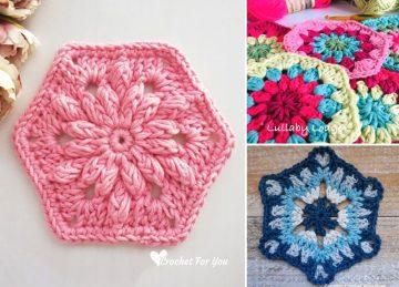 Lovely Crochet Hexagons