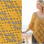 Butterfly Migration  Summer Poncho