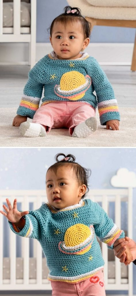 Saturn Baby Pullover