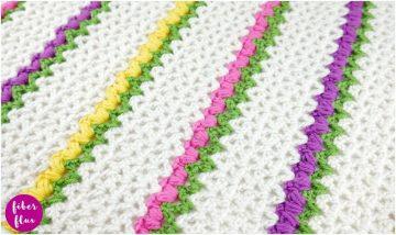 Flowering Herbs crochet Shawl