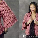 Xian Crochet Kimono Jacket