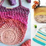 20+ Fun Zero Waste Fun Crochet Market Bags